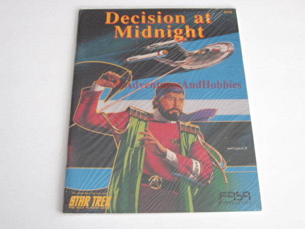 Classic Star Trek RPG Decision at Midnight Adventure FASA 2219