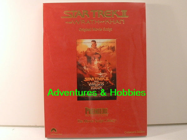 Star Trek V Final Frontier Movie Script Collector Edition GC