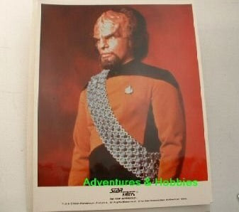 Star Trek TNG Lt Worf Photo Michael Dorn 8x10 BD