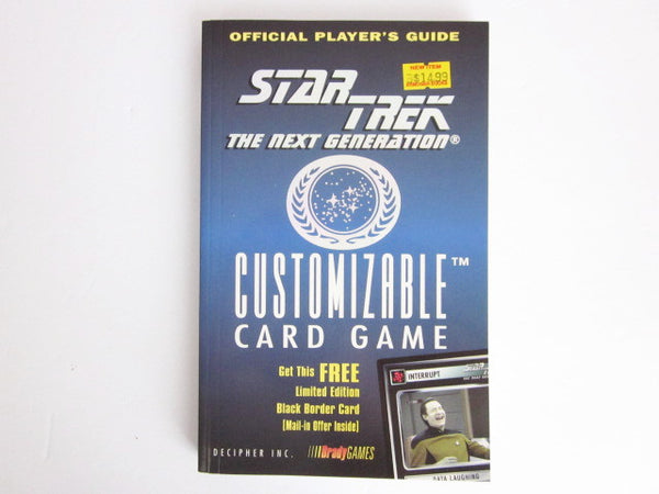 Star Trek:The Next Generation CCG Official Player's Guide Decipher Brady Games.