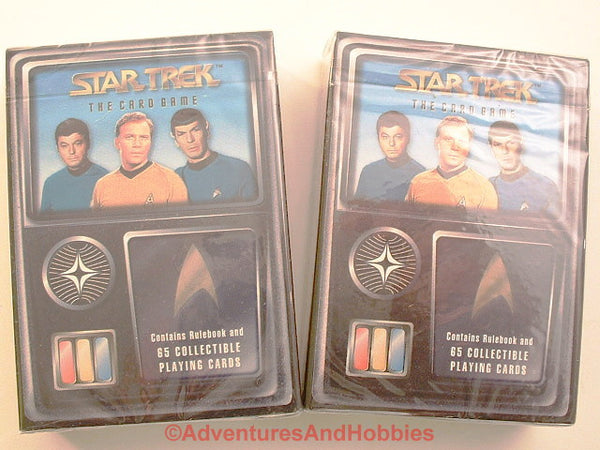Star Trek OS CCG Starter Decks Lot of 2 Sealed AB Fleer