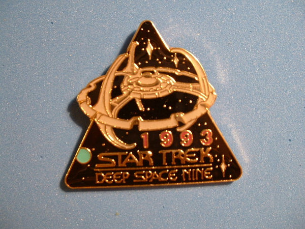 Star Trek Pin Deep Space Nine 1993 Season 1992 Hollywood Pins Metal