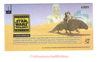 Star Wars Trilogy Special Edition Box Topper 3-D Topps Widevision Trading Card 1997