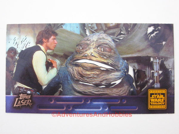Star Wars Trilogy Special Edition Laser Card #4 Topps Widevision 1997 AS