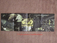 Star Wars CCG Dagobah Promo Poster 10.5 x 32.5 Card List Decipher Card Game