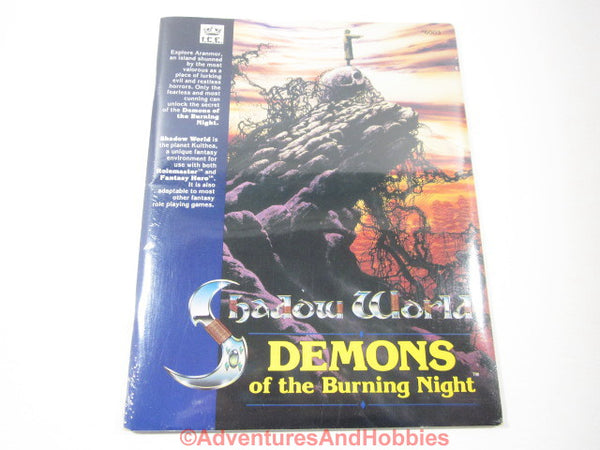Shadow World Demons of the Burning Night Sealed Shrinkwrap ICE 6003 KTj-S