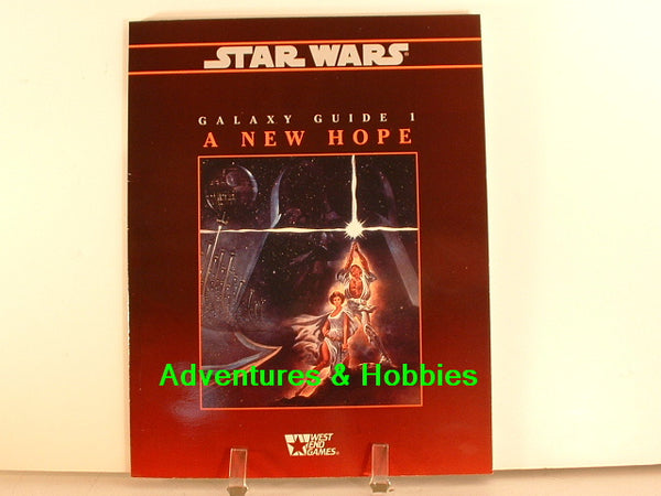 Star Wars RPG Galaxy Guide 1 A New Hope West End Games New OOP L7