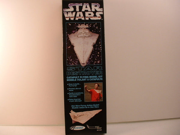 Star Wars Star Destroyer Balsa Wood Glider Estes 1996 OOP NM/Mint LA