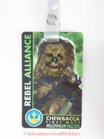 Star Wars Chewbacca First Mate Identification Card ID Badge Costume