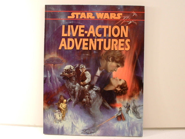 Star Wars RPG Live-Action Adventures Rules OOP NMint BB West End