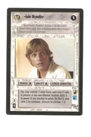 Star Wars CCG Luke Skywalker 102 limited black border.