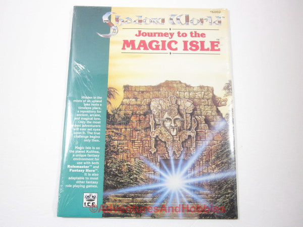 Shadow World Journey to the Magic Isle Sealed Shrinkwrap ICE 6002 KTj-S