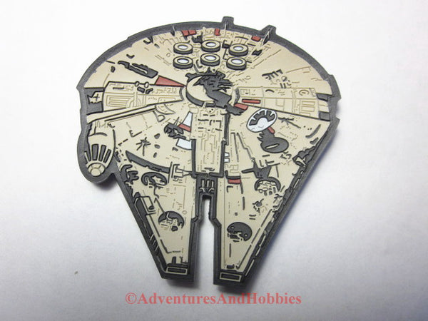 Star Wars Millennium Falcon Refrigerator Magnet 1998 Applause