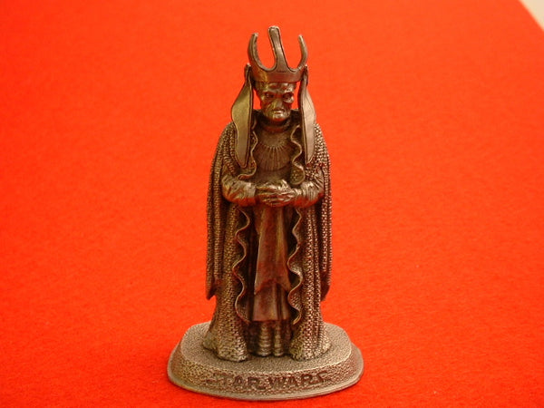 Star Wars 1 Phantom Menace Nute Gunray Pewter Miniature Figure Rawcliffe OOP EB