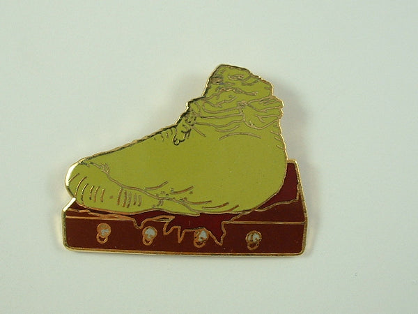 Star Wars Pin Jabba the Hutt Figure 1993 Hollywood Pins Metal