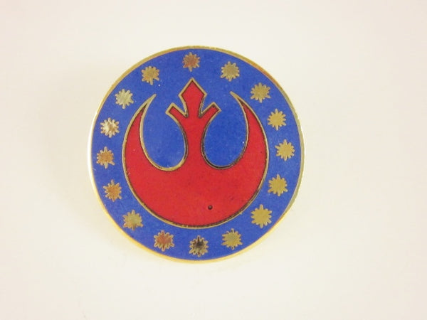 Star Wars Pin Rebel Alliance Logo Crest 1993 Hollywood Pins Metal Cloisonne