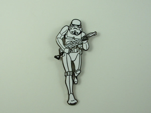 Star Wars Pin Imperial Storm Trooper Figure 1994 Lucas Films Cloisonne