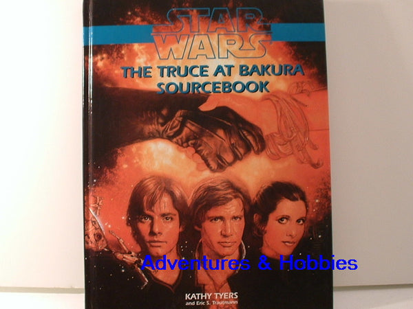 Star Wars RPG Truce at Bakura Sourcebook OOP West End Games HC