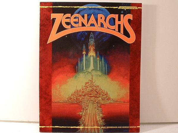 Shatterzone Zeenarchs Sourcebook OOP New NMint CC West End Games