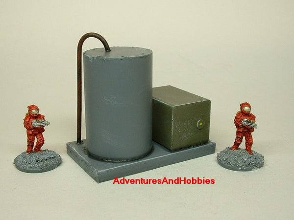 Wargame Terrain 15MM Storage Tank Industrial Equipment T1061