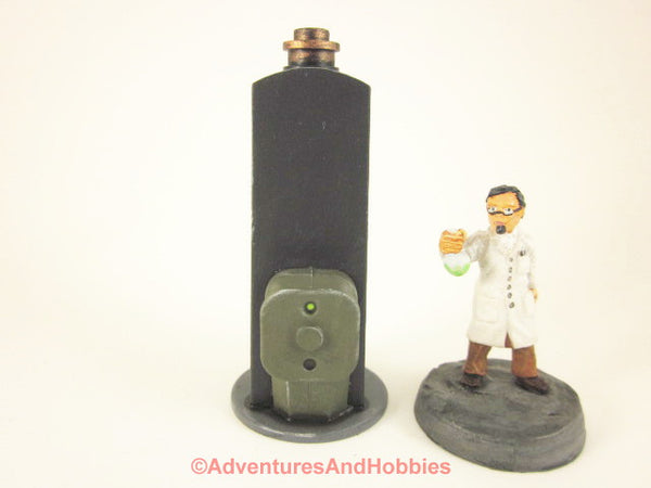 Wargame Terrain Mad Science T1219 Laboratory Equipment Scenery 40K