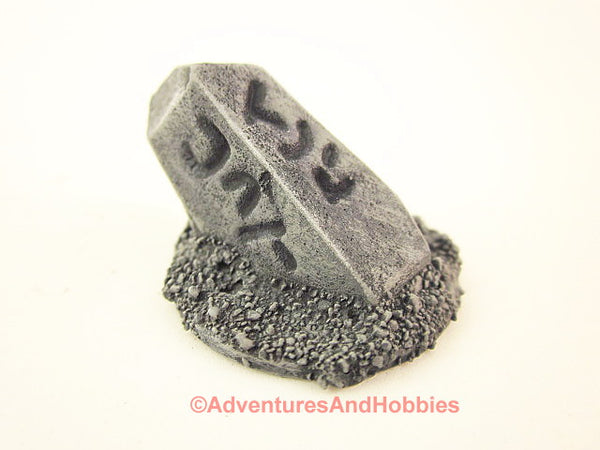 Wargame Terrain Small Stone Marker Call of Cthulhu T1372 Horror Scenery 40K