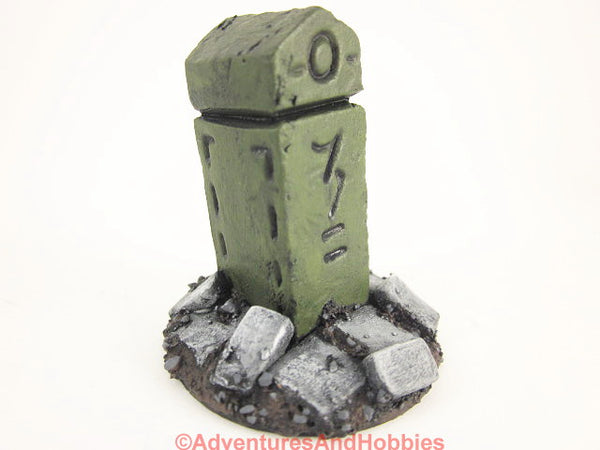 Wargame Terrain Stone Shrine Call of Cthulhu T1380 Horror Scenery 40K