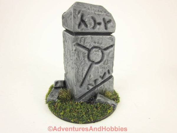 Wargame Terrain Ruined Shrine T1385 Pulp Painted Scenery 40K