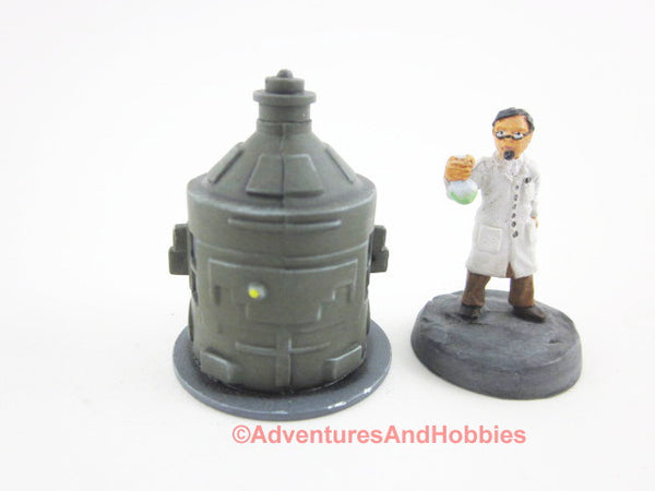 Wargame Terrain Mad Science T1405 Laboratory Industrial 25-28mm 40K
