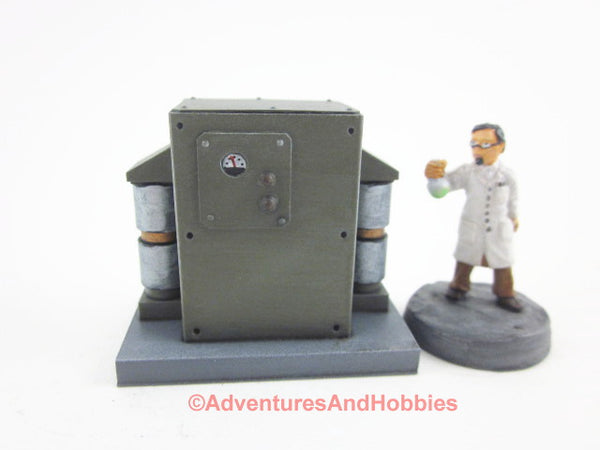 Wargame Terrain Mad Science T1407 Laboratory Industrial 25-28mm 40K