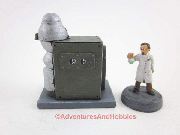 Wargame Terrain Mad Science T1410 Laboratory Industrial 25-28mm 40K