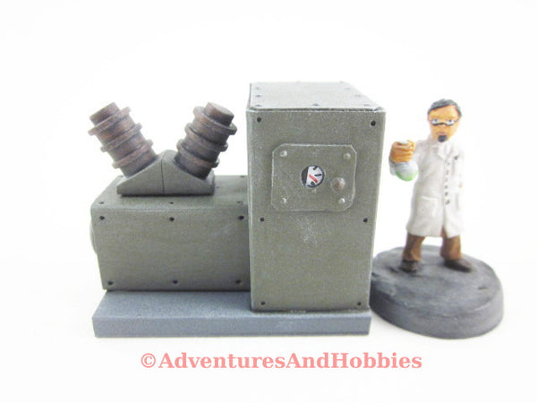 Wargame Terrain Mad Science T1415 Laboratory Industrial 25-28mm 40K