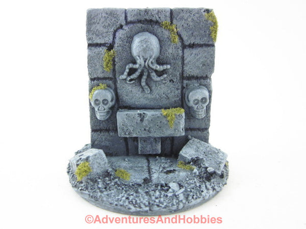 Wargame Terrain Cthulhu Cult Shrine T1420 Pulp Painted Scenery 40K