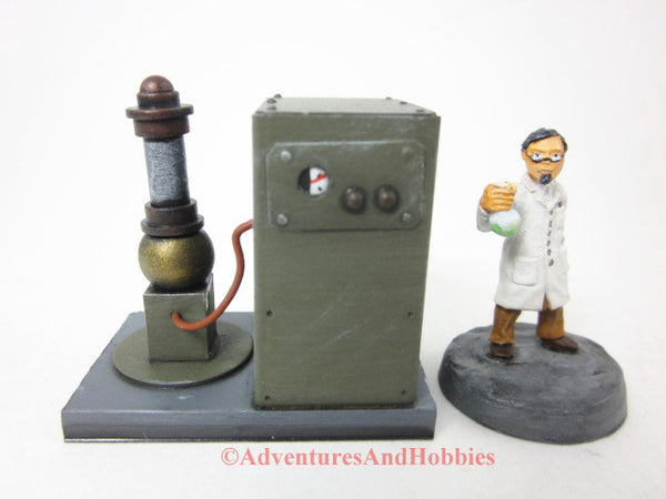 Wargame Terrain Mad Science T1457 Laboratory Industrial 25-28mm 40K