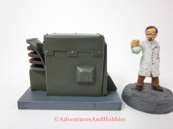 Industrial Wargame Terrain Mad Science T1461 Laboratory 25-28mm 40K
