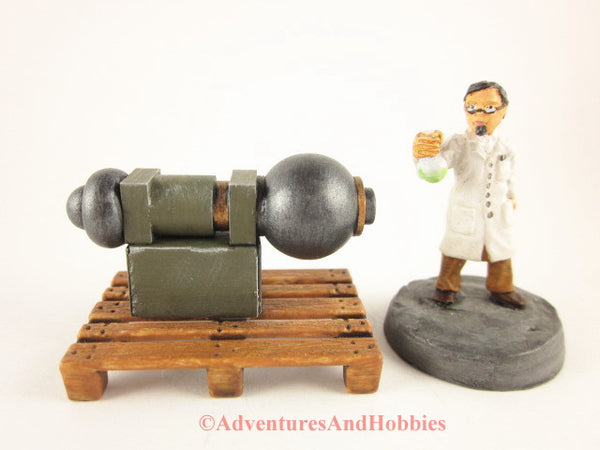 Mad Science Wargame Terrain Industrial T1475 Laboratory Pallet 25-28mm 40K