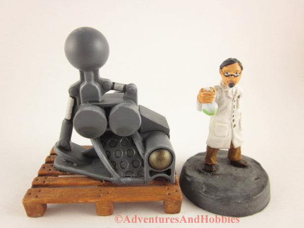 Mad Science Wargame Terrain Industrial T1478 Laboratory Pallet 25-28mm 40K