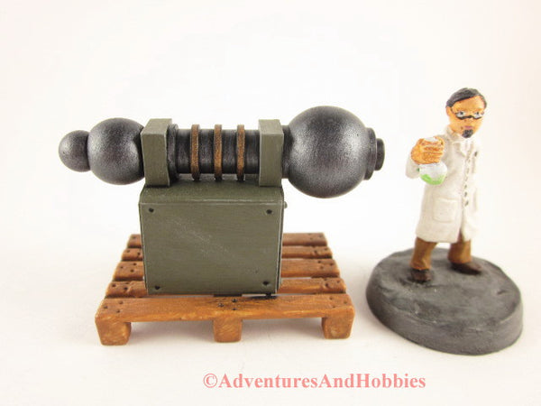 Mad Science Wargame Terrain Industrial T1480 Laboratory Pallet 25-28mm 40K
