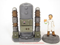 Wargame Terrain Mad Science T1482 Laboratory Industrial 25-28mm 40K