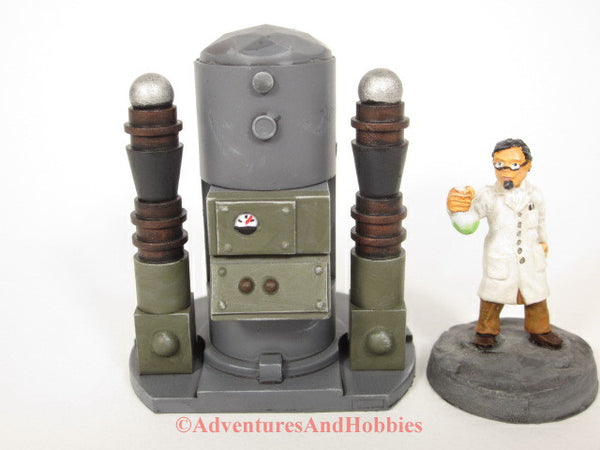 Wargame Terrain Mad Science T1483 Laboratory Industrial 25-28mm 40K