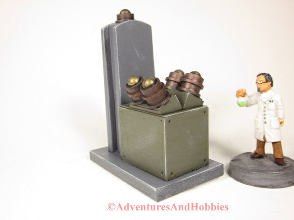 Wargame Terrain Mad Science T1485 Laboratory Industrial 25-28mm 40K