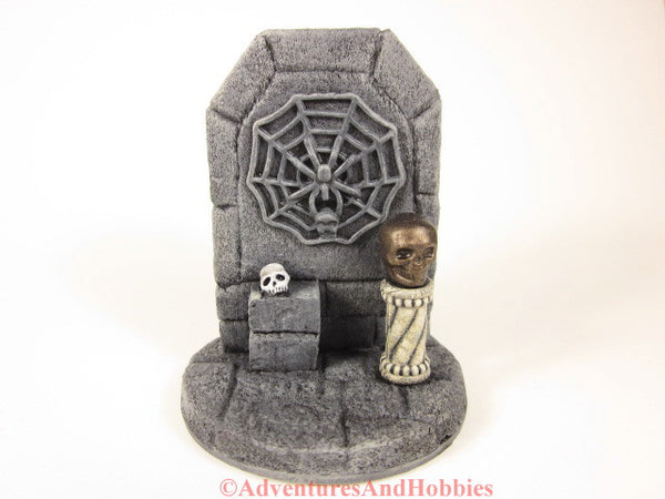 Wargame Terrain Evil Spider Cult Temple Stone Shrine T1487 Pulp Painted Scenery 40K