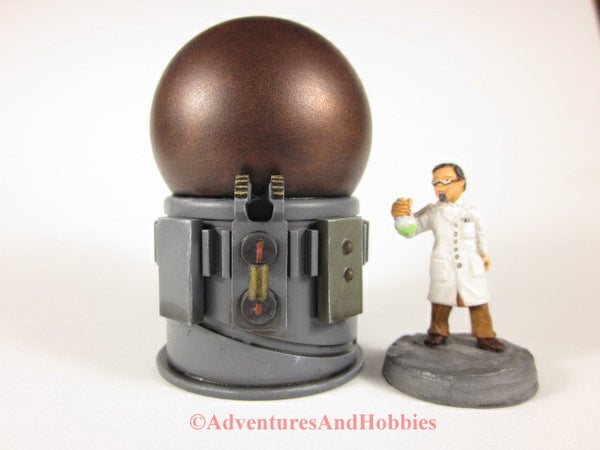 Wargame Terrain Mad Science T1508 Laboratory Industrial 25-28mm 40K