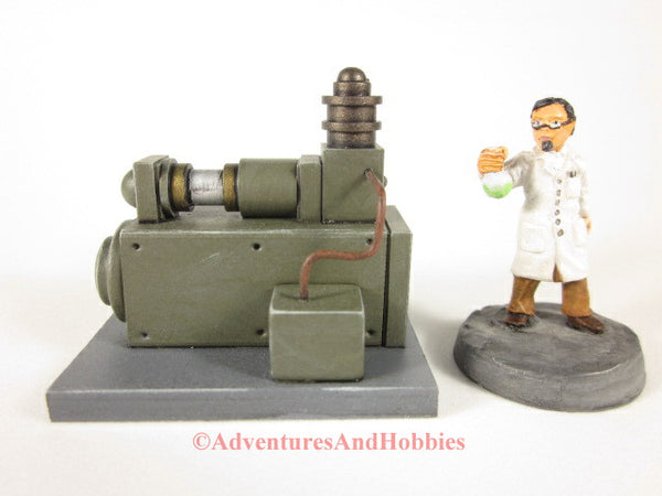 Miniature Mad Science T1510 Laboratory Industrial Wargame 25-28mm 40K