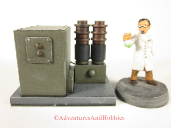 Wargame Terrain Mad Science T1511 Laboratory Industrial 25-28mm 40K