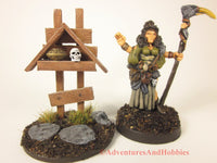 Wargame Terrain Roadside Shrine T1534 Fantasy Horror Scenery D&D 40K