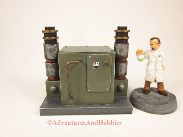 Wargame Terrain Mad Science T1544 Laboratory Industrial 25-28mm 40K