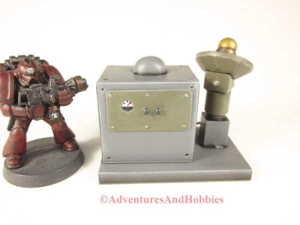 Miniature Wargame Scenery Mad Science T1549 Lab Industrial Terrain 25-28mm 40K