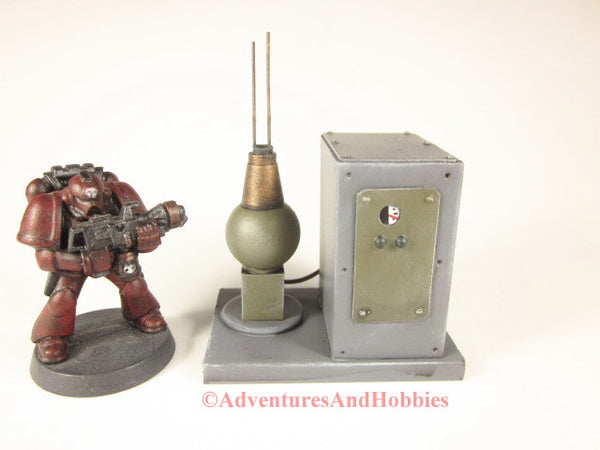 Miniature Wargame Scenery Mad Science T1550 Laboratory Industrial Terrain 25-28mm