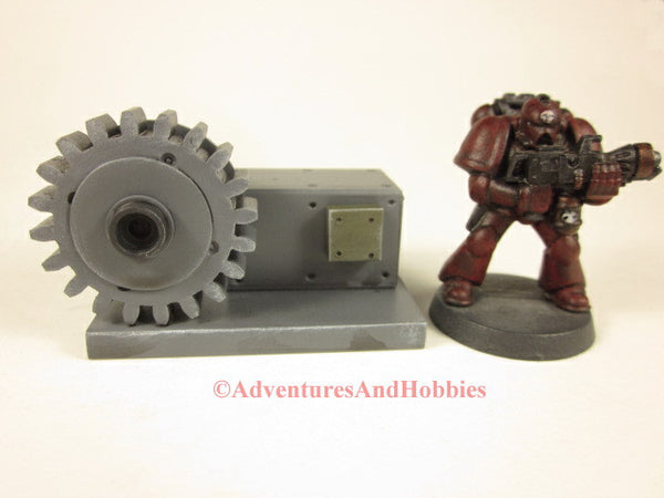 Miniature Wargame Scenery Industrial Equipment T1555 Scatter Terrain 25-28mm Scale